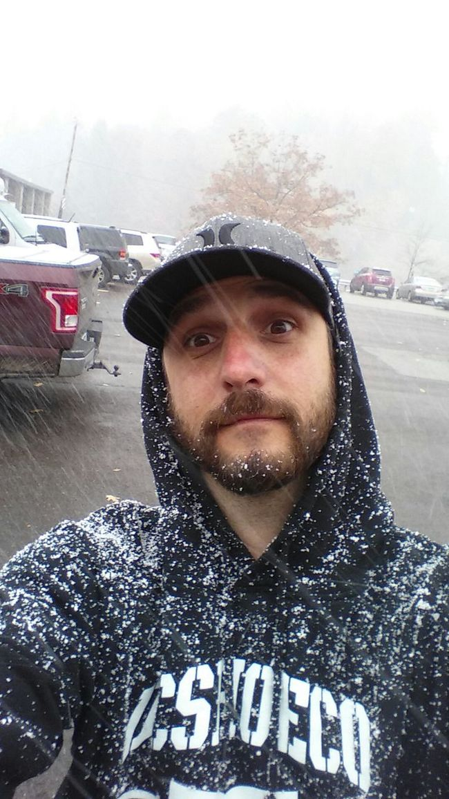 Its here Snow ❄ Wintertime Beardgang livin the dream Seven Springs