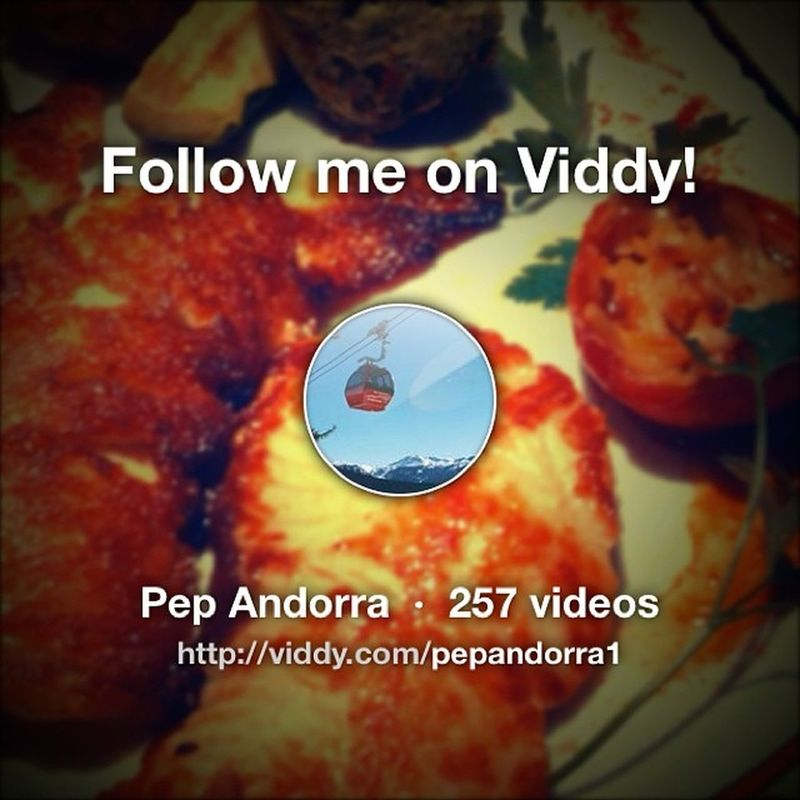 Are you on Viddy ? Follow me on http://viddy.com/i/pepandorra1 so that I can share videos with you!