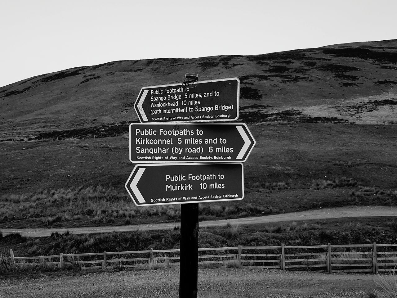 Taking Photos Monochrome _ Collection Blackandwhite Photography Taking Pictures Monochromatic Black And White Photography Beautiful View Sign Post Signs Signporn Which Way To Go? Which Way? Crossrail Crossroads Of The World Cross Roads Crossroadslife Hills And Valleys Hillscape Hikingadventures Hiking Trail Scotland Dumfries Sightseeing, Hiking_walking Dayoff Day Out
