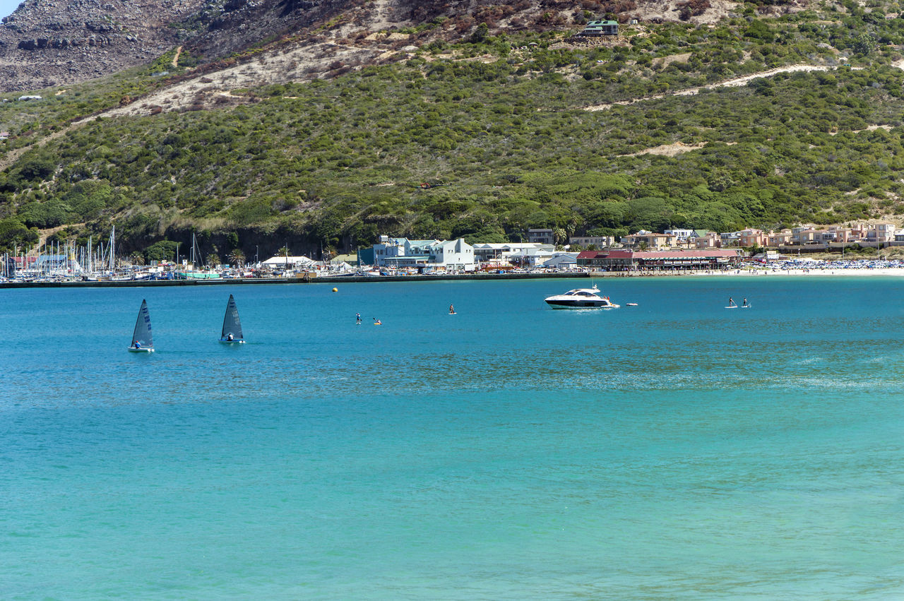Hout bay beach Beach Coastline Hout Bay Beach Nautical Vessel Outdoors Pedal Boat Sea Tranquility Water Watersports Yachting