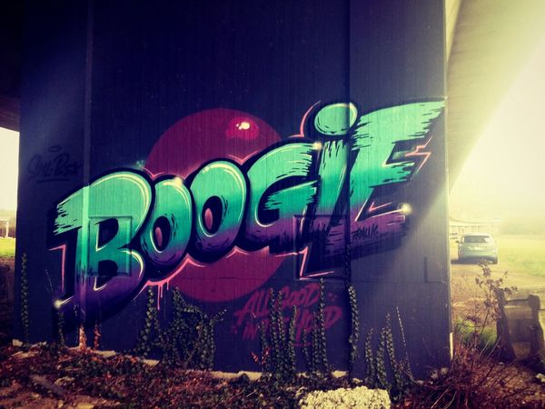 Graffiti Boogie Art Colors