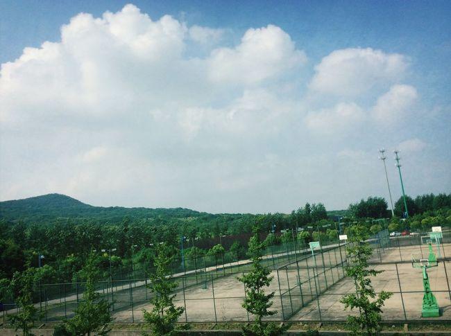 南广的蓝天 First Eyeem Photo