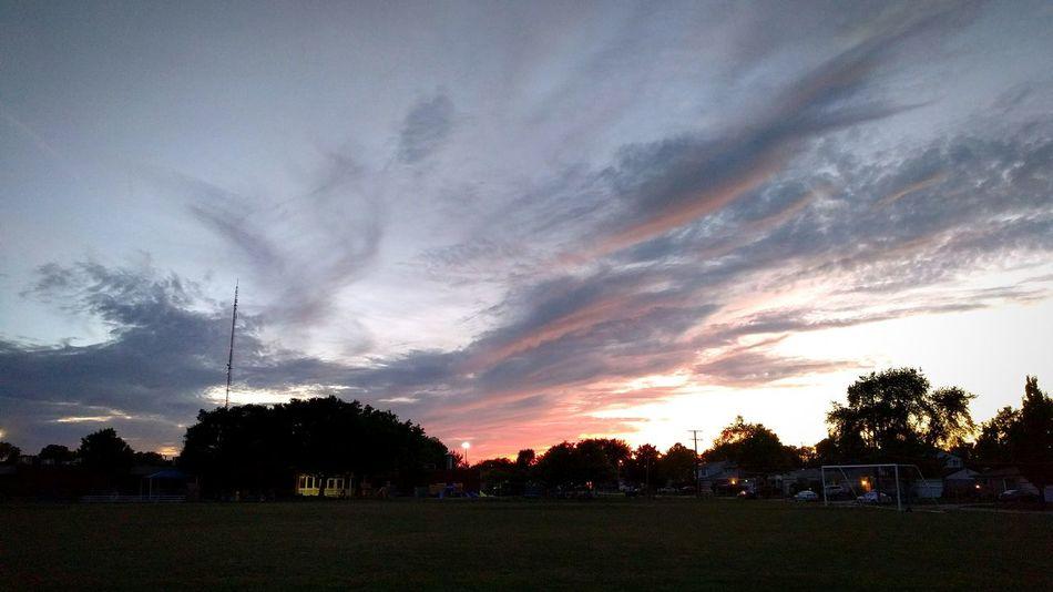 Neighborhood Sunset Colour Of Life Sunset Sky And Clouds Dusk