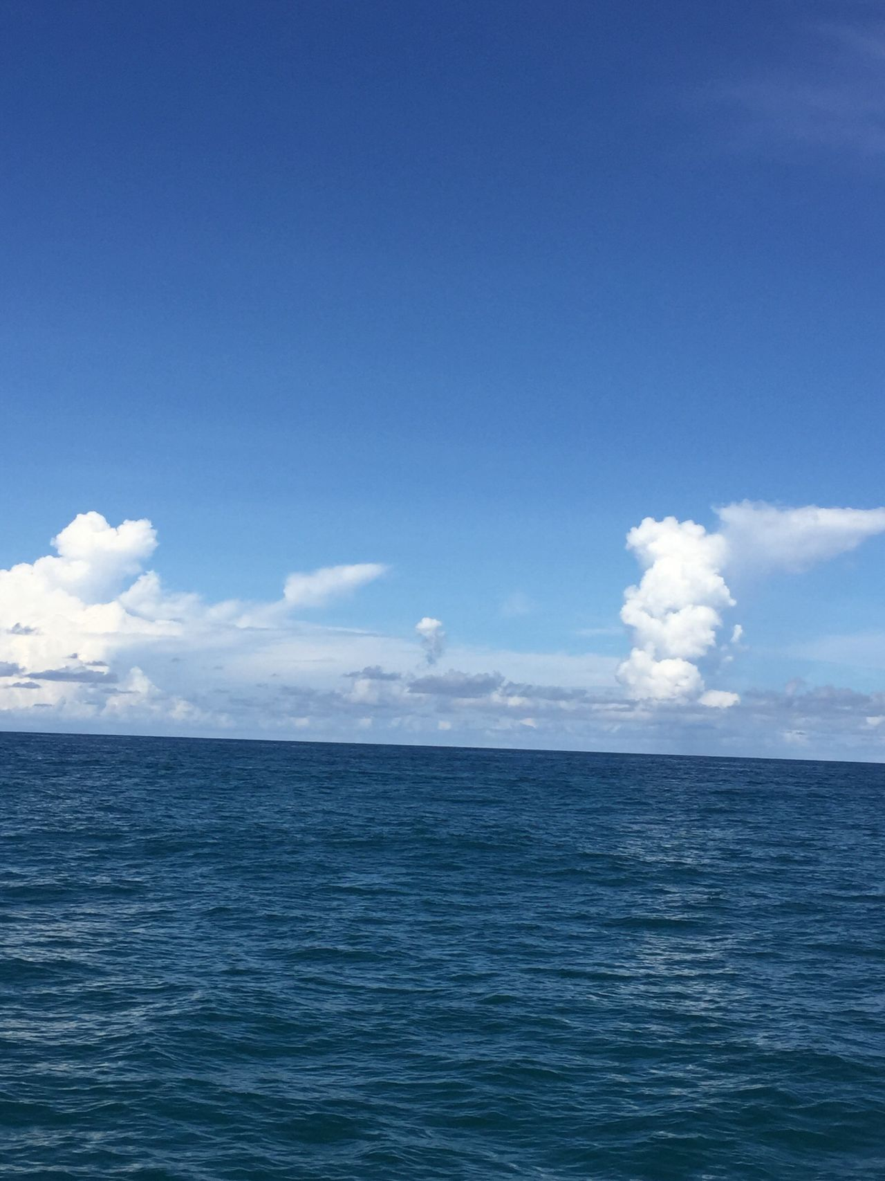 No People Sea Blue Water Sky Horizon Over Water Beauty In Nature Scenics Nature Cloud - Sky