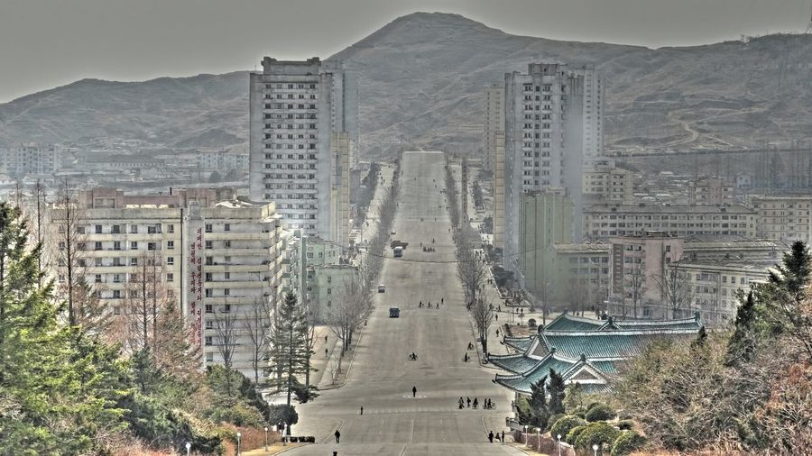 Check This Out Gangsters Paradise North Korea Cityscapes Traveling Travel Kaesong Taking Photos Hdr_Collection Hello World City Cityscapes Relaxing Hi! Picturing Individuality EyeEm Gallery EyeEm Best Shots Composition Tranquil Scene Travel Photography Outdoors Hanging Out Enjoying Life Hdr_Collection HDR Landscapes With WhiteWall