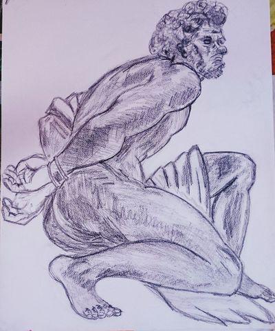 Croquis Crayon Drawing ✏