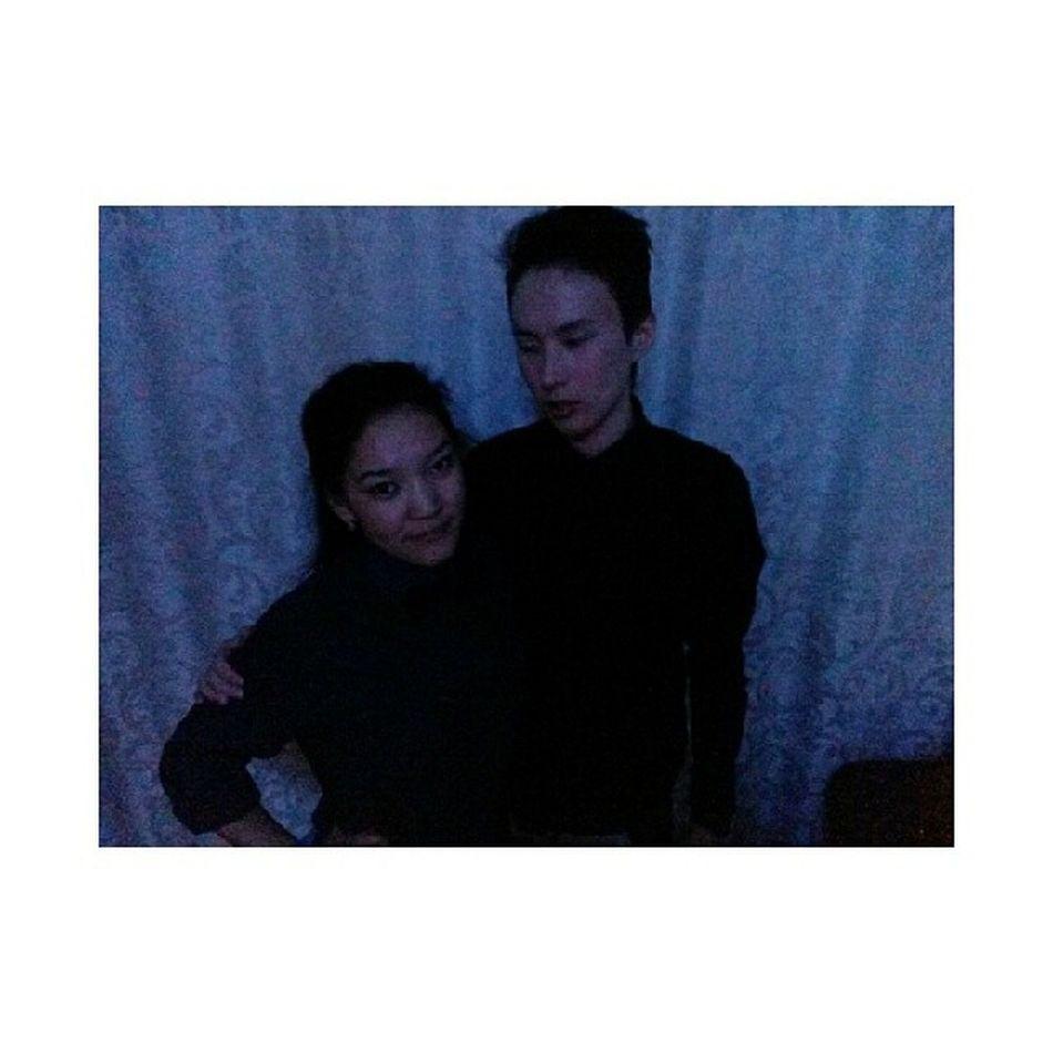 With my @lyubov_potap ?? Vscocam VSCO Tumblr Tumblrteam mood
