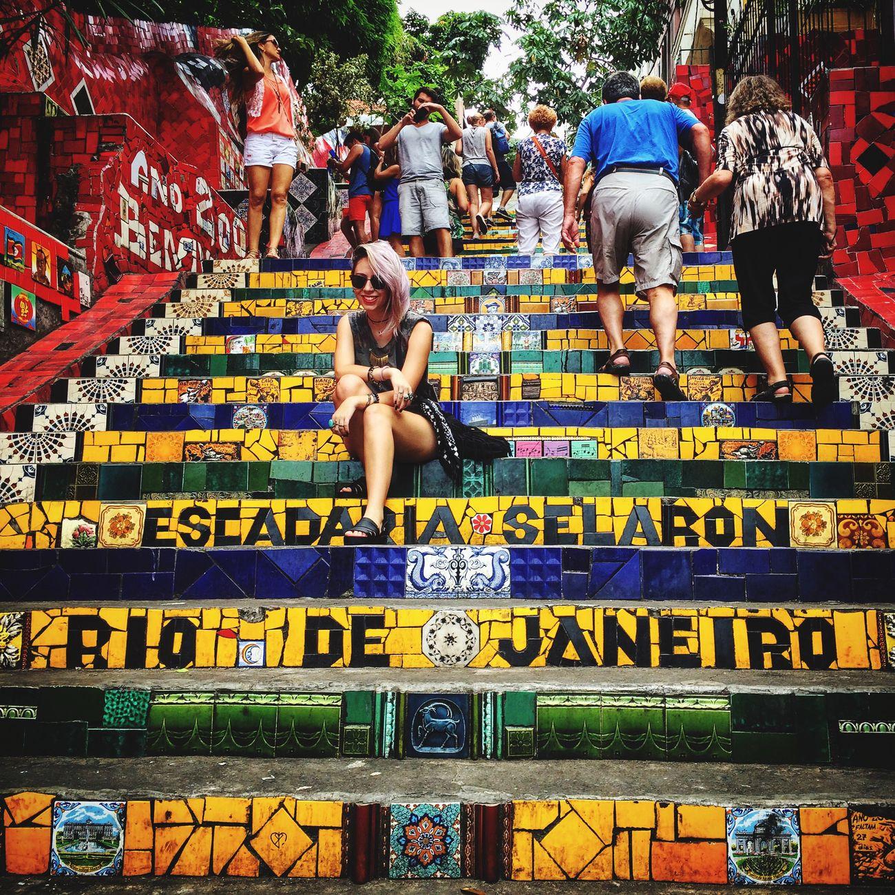 Escadaria Selarón Mobgraphia Popckorn