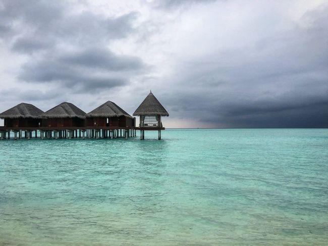 Maldives Island Beach Traveling