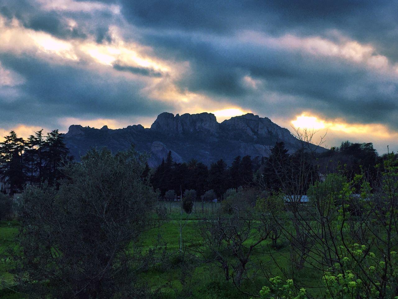 Rocher Rocher De Roquebrune Nature Sky Cloud - Sky Beauty In Nature Sunset Soleil Couchant Coucher De Soleil Ciel Et Nuages Mountain Montagne