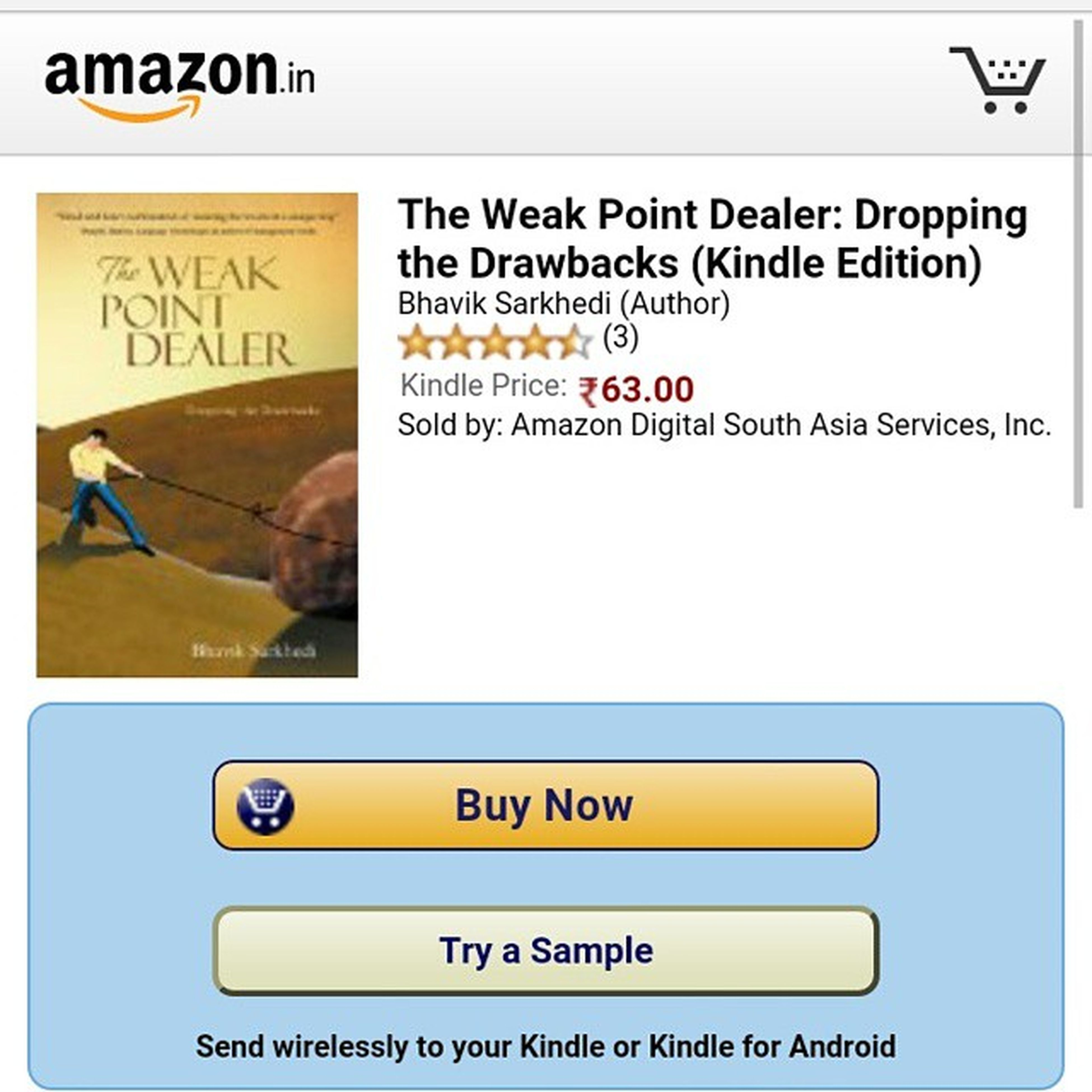 Kindle version Ebook My book Theweakpointdealer Dignity Author