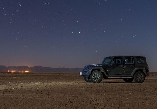 Jeep Wrangler Night Nightphotography