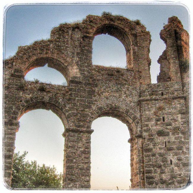 турция анталия Аспендос акведук история Древность хдр Turkey Antalya Aspendos  Aqueduct Hystory Antient HDR
