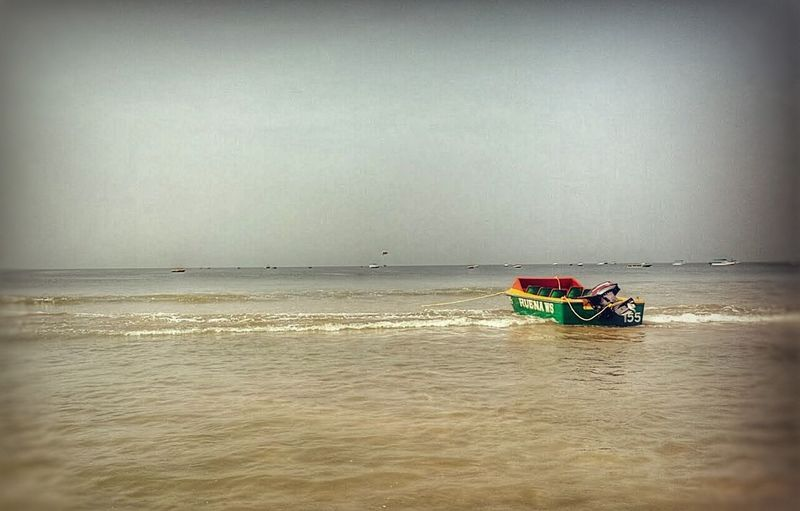 Sea Water Nautical Vessel Horizon Over Water Beach Outdoors Day Nature No People Sky Nature Photography Nature_perfection Beauty In Nature Nature
