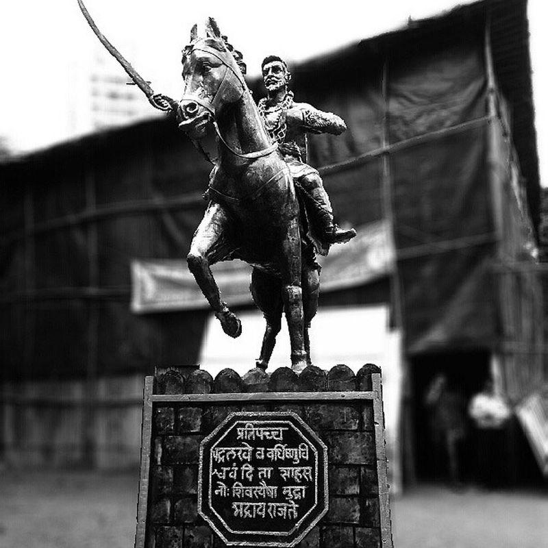 Shivaji Maharaj Picofthwday IGDaily Mumbai_igers Mumbai_instagrammers India_pm Indian_shoutouts Follwme Followback Followforfollow Likeforlikes Friends Mumbai_mumbaikar