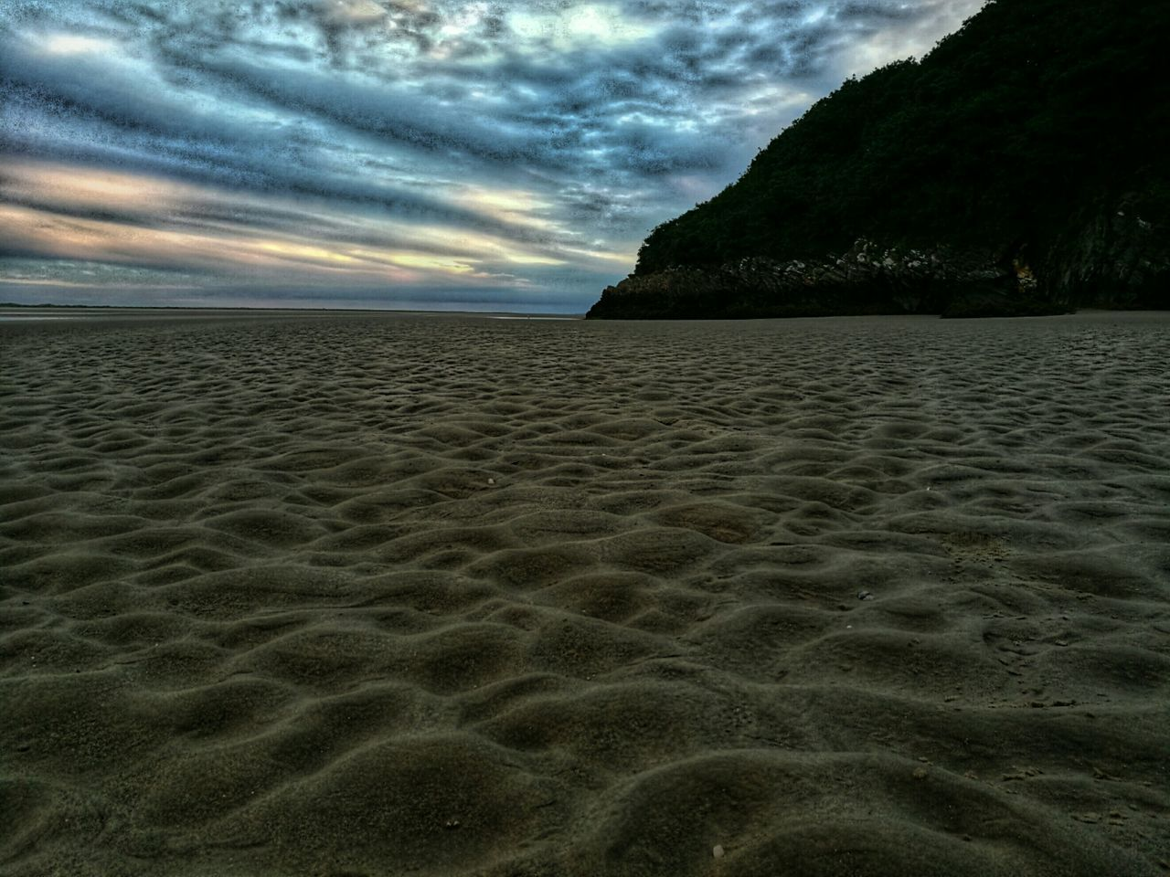 nature, sand, sky, tranquility, beach, cloud - sky, beauty in nature, sea, scenics, no people, tranquil scene, outdoors, water, day