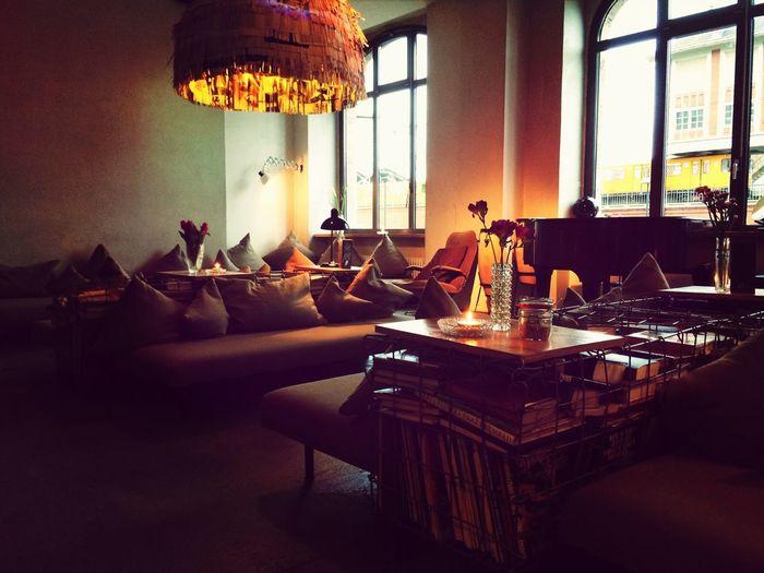 Michelburger, Hotel, Lounge, Berlin Warschauer Straße, Friedrichstrasse Michelberger Hotel Interior Design