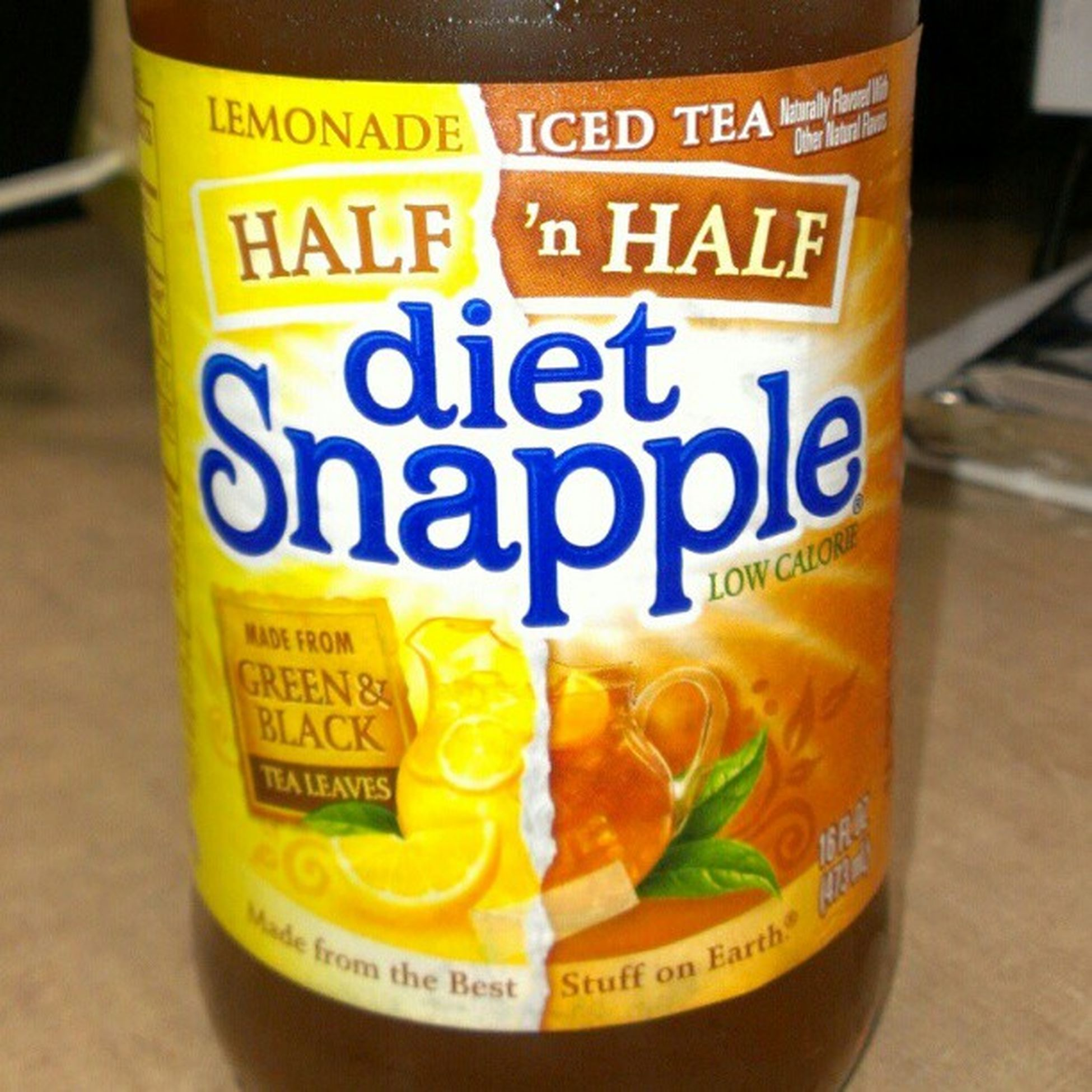 The perfect mix!!! Snapple Lemonicedtea Lemonade Madefromthebeststuffonearth halfnhalf lowcalorie
