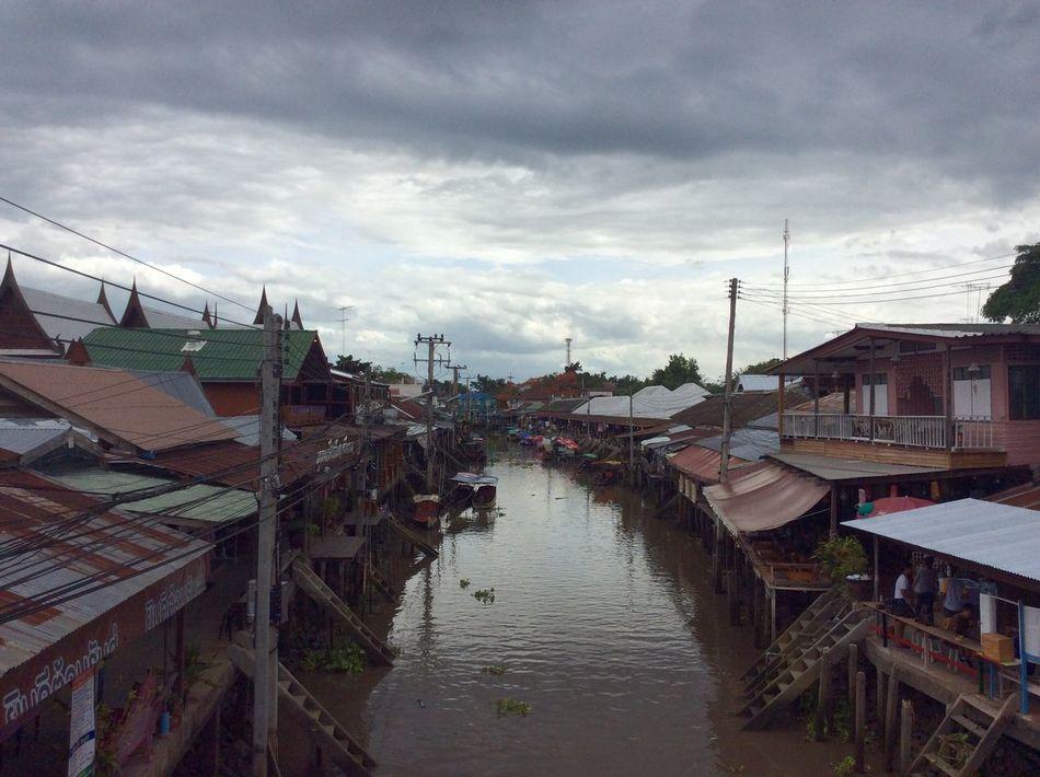 Amphawa floating market My Holidays 😘 Thailand