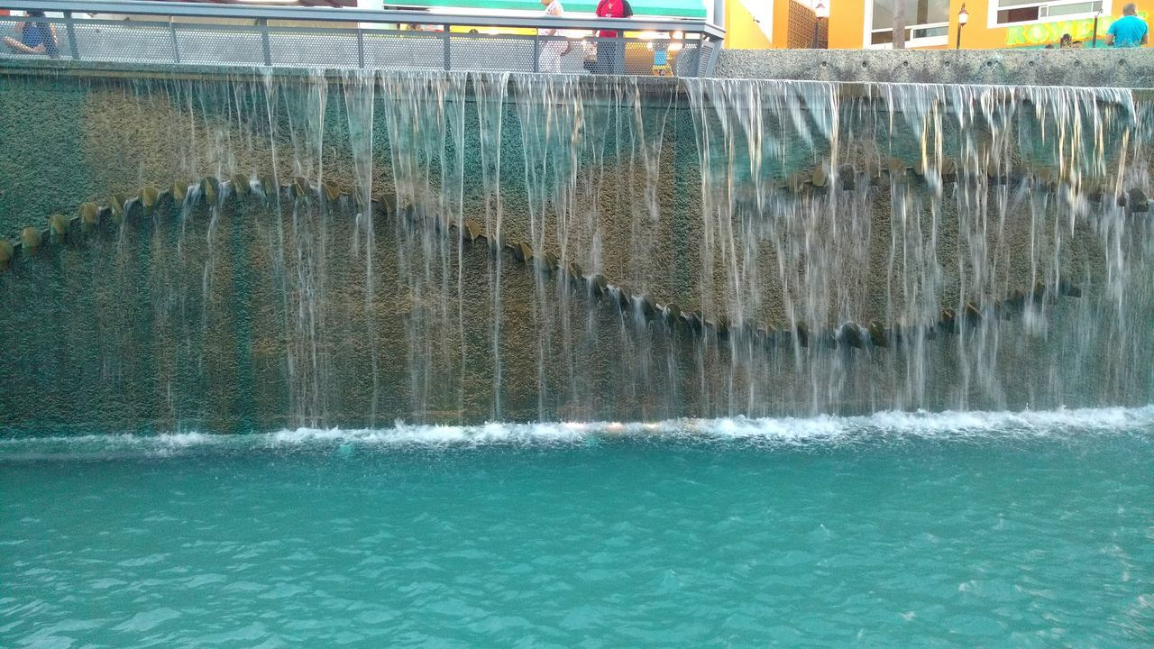Water Motion Falling Flowing Flowing Water Outdoors Canal Day Fountain Taking Photos Mobile Photography Enjoying Life Relaxing
