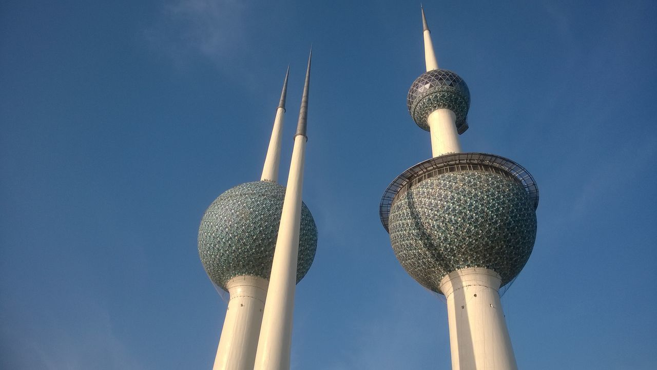 Architecture Day Kuwait Towers No People Outdoors Travel Destinations