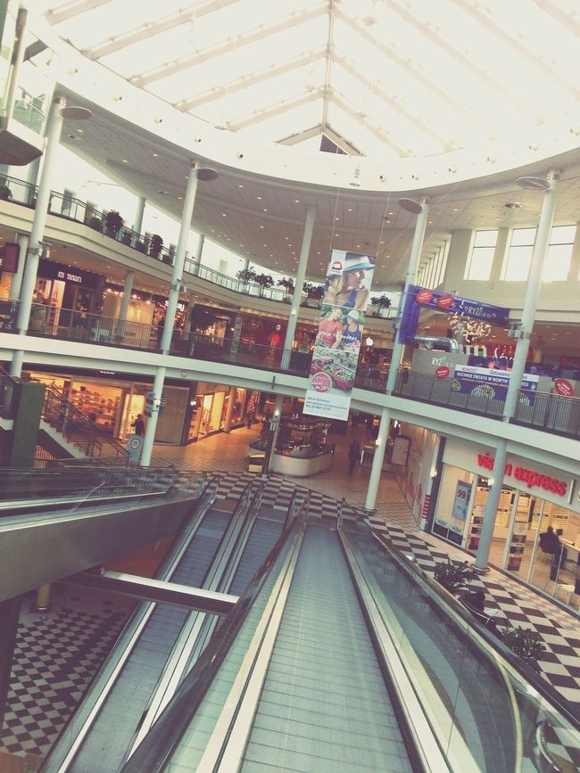 Shopping Mall In Heaven Hello World Escalators Shopping Mall Urban Geometry Modern City Life Quality Time