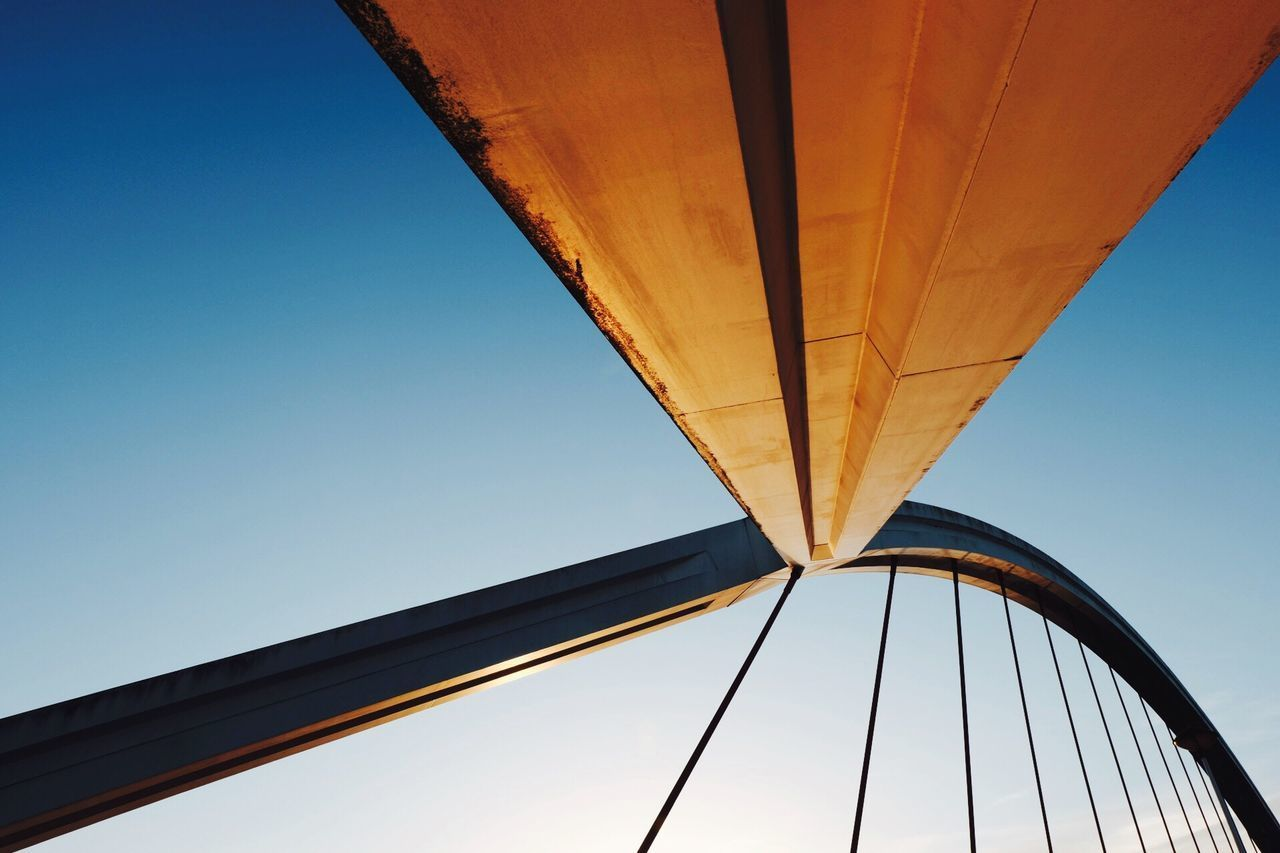 Write Something About You Low Angle View Bridge - Man Made Structure Clear Sky Built Structure Architecture No People Connection Seville Sevilla