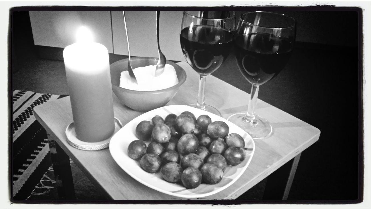 Romance Icecream Glögi Grapes. Jõulumeeleolu.