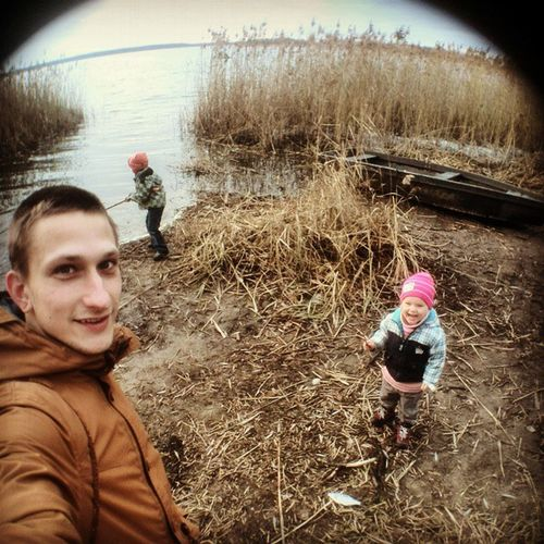 Рыболовное селфи на давно забытых местах....в детстве тут было очень классно. Selfie Children Chillsnotskills Fishing