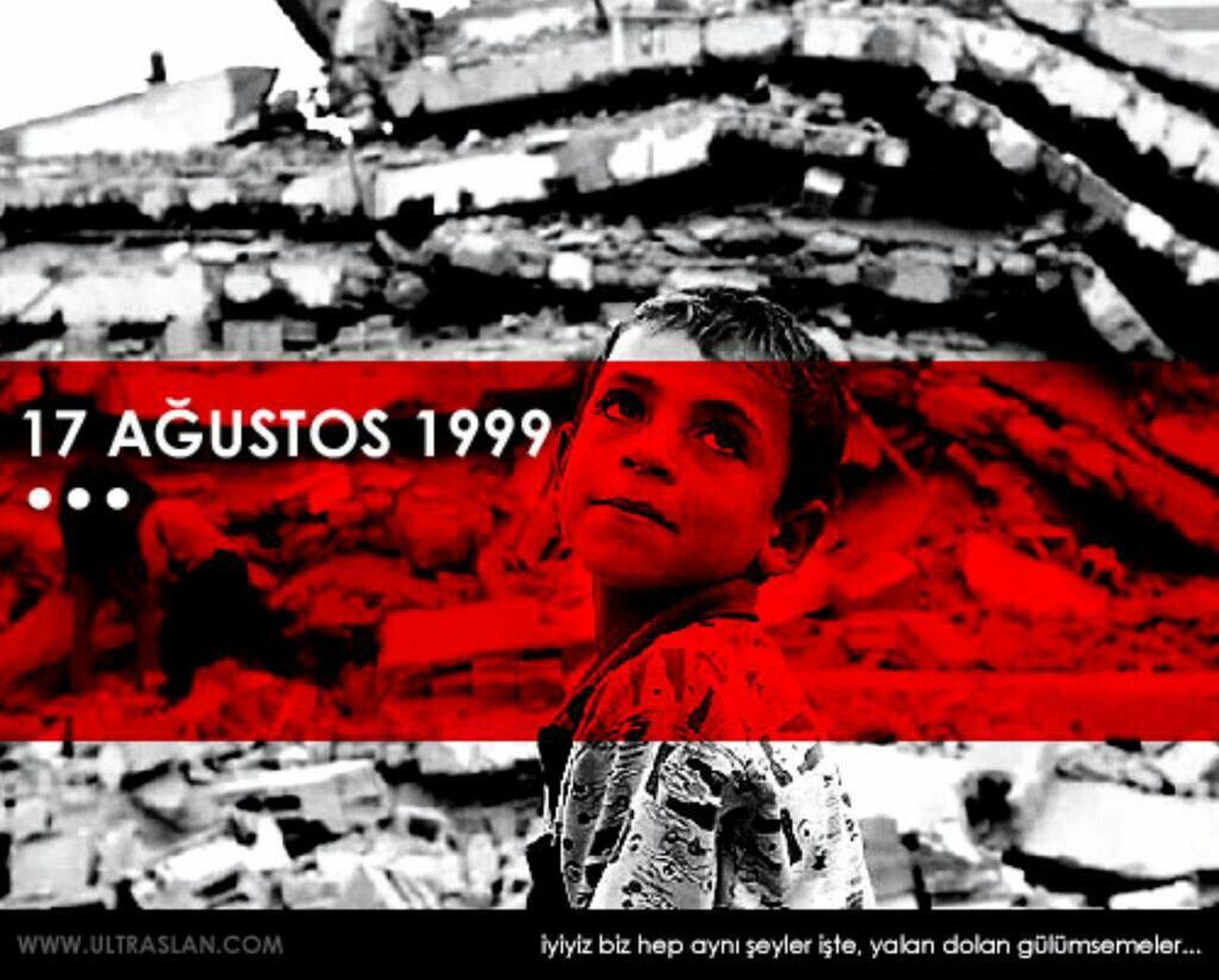 17 Agustus Deprem Olenleri Rahmetle Aniyoruz Ruhunuz şad Olsun.. Huzun Gunu 17ağustos1999 Uzgunum 😢