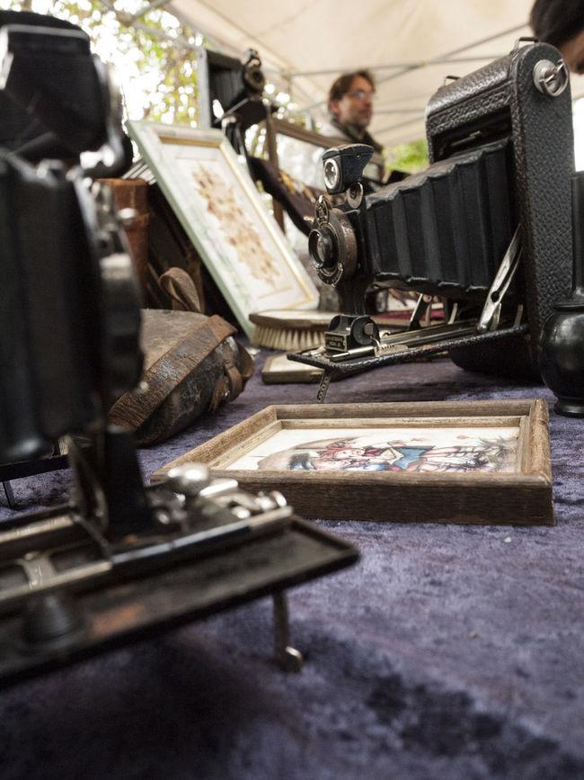 Analogic Culture Flea Markets Folding Camera Mercatib Old Vintage