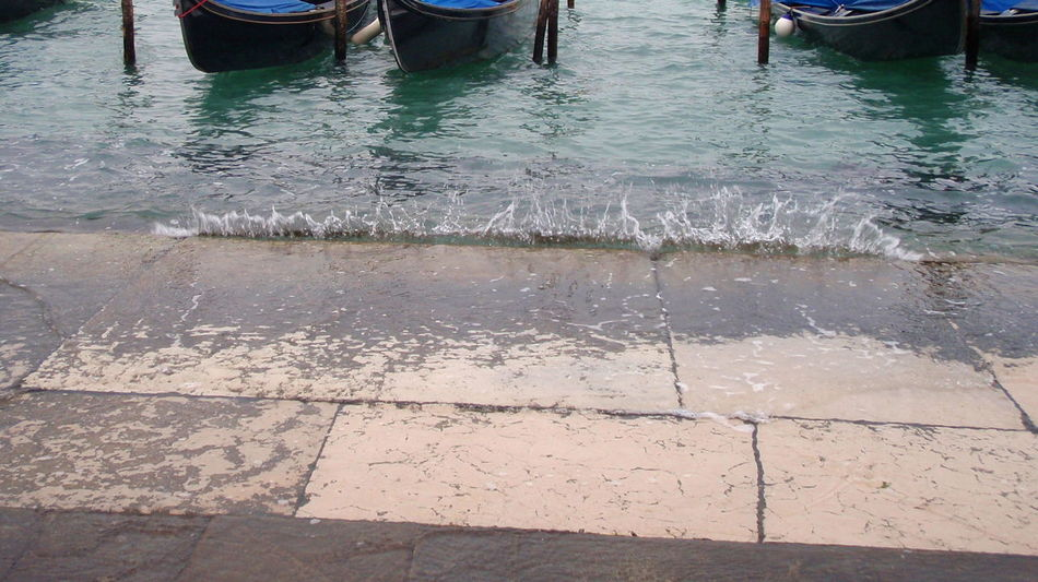 ritornando à Venezia City Life Day Gondolas Little Waves Low Section Outdoors Pedestrian Walkway Person Reflection Shoreline Venice Water