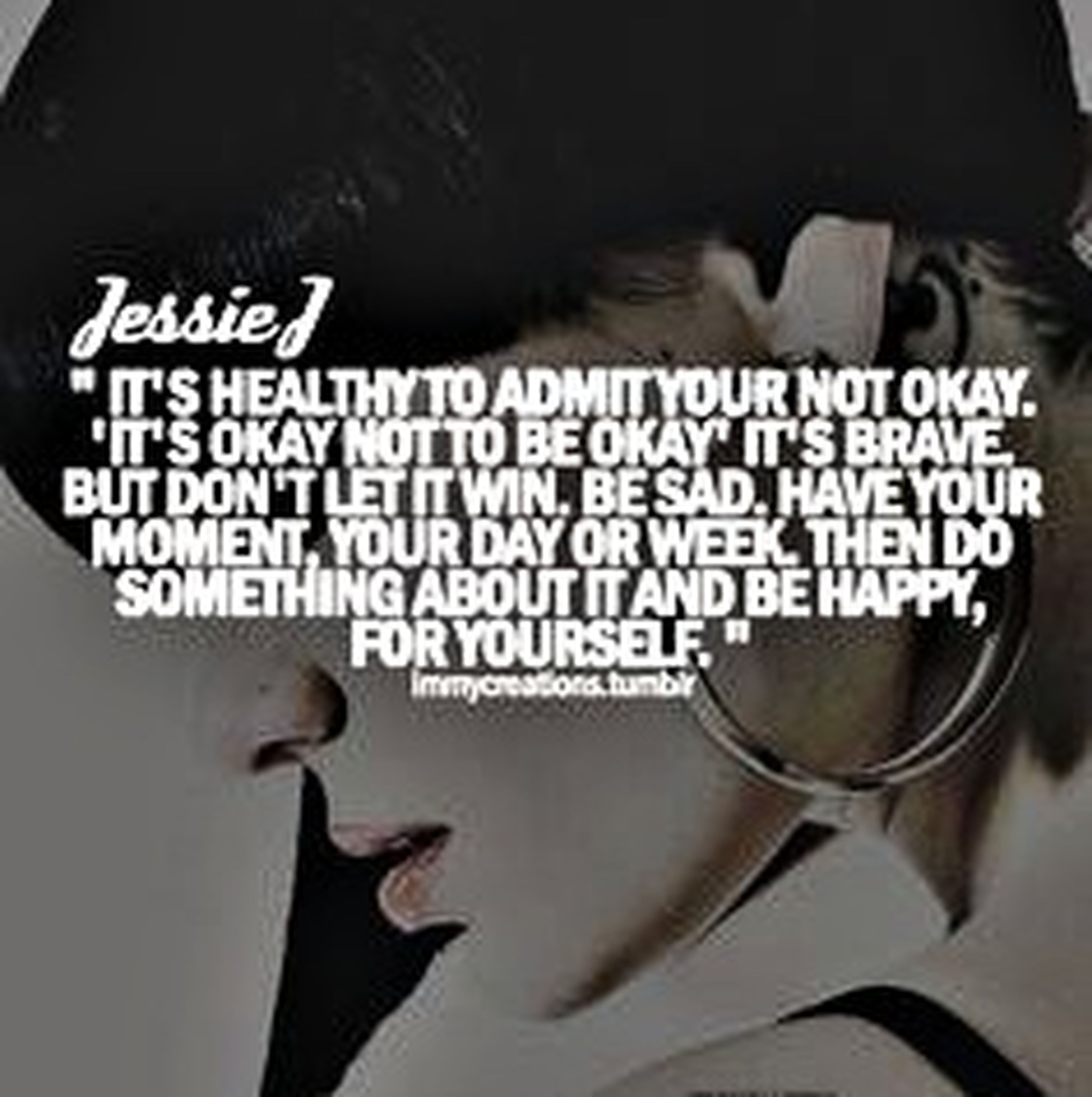 Here you go my dear... This is the quote. I'm trying to do something about it... Its Okay Not To Be Okay! Keep On Keeping On Depression Trying