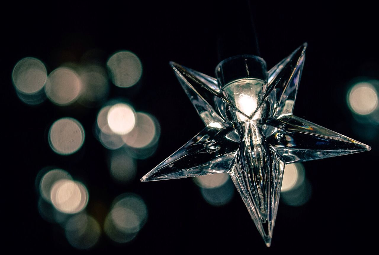 Beautiful stock photos of stars, Christmas, Christmas Lights, Close-Up, Focus On Foreground