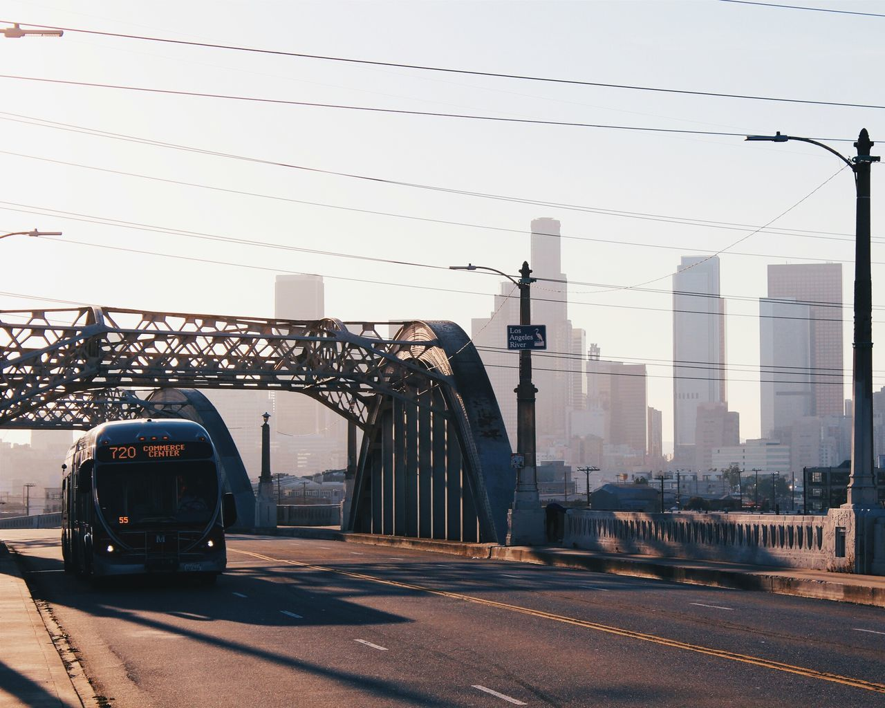 Beautiful stock photos of los angeles, Architecture, Bridge, Building Exterior, Built Structure