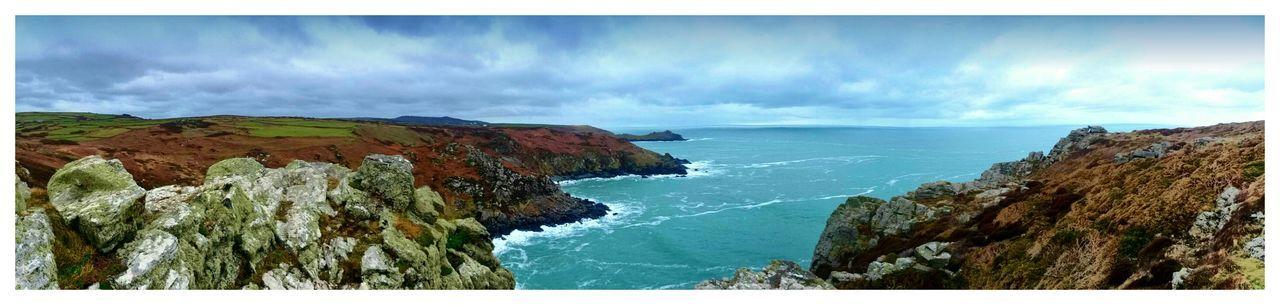Coastline Coastal Englands Coast English Coastline Seascape Sea Rocky Coastline