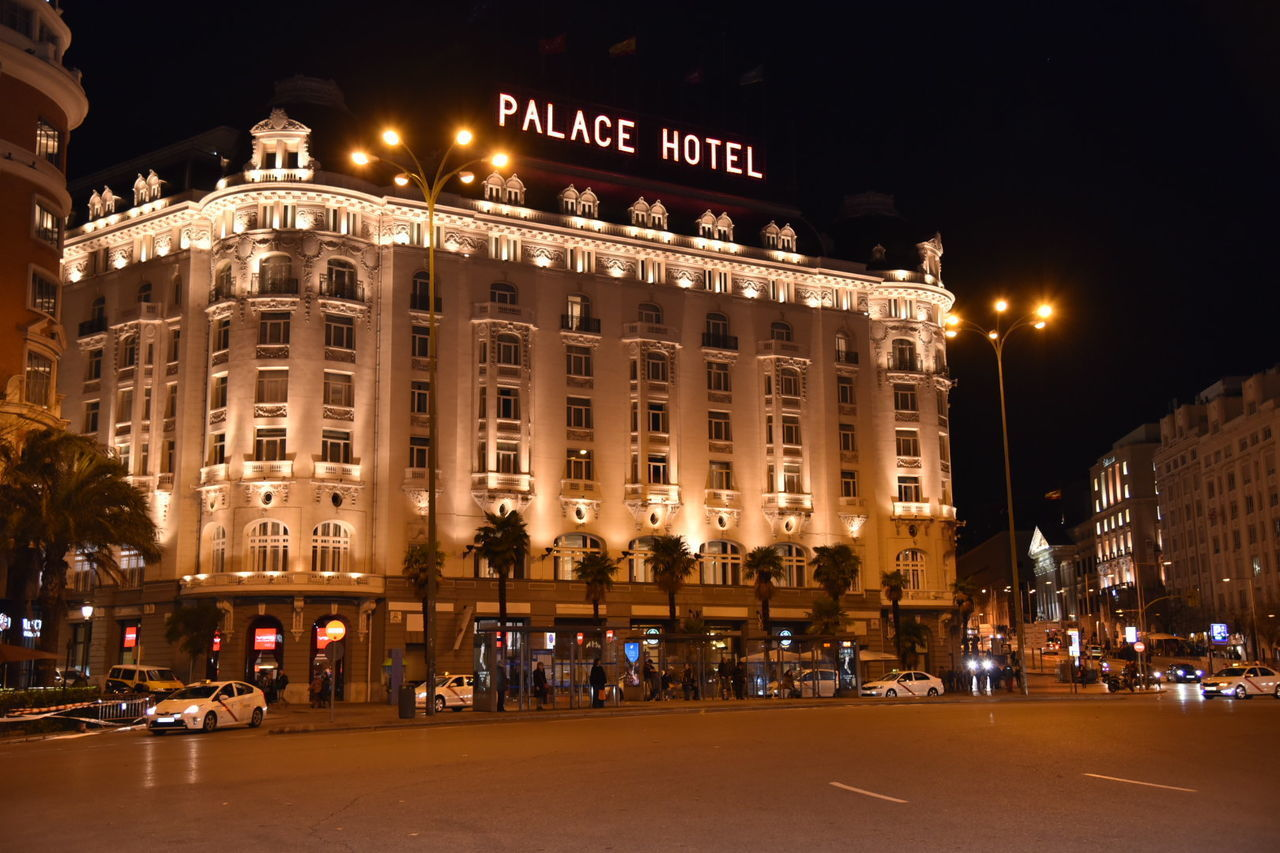 Hotel Palace Illuminated Architecture Night City Arquitectura Madrid Architecture_collection Architecture Photography Architecture Facade