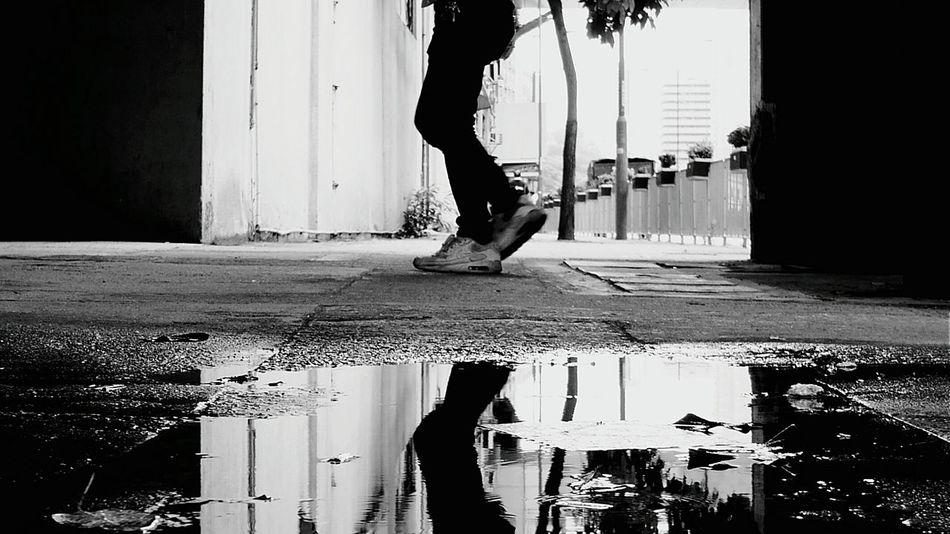 walk. Afternoon Hong Kong Discoverhongkong Black & White Monochrome DMC_CM1 Leica Streetphotography Mobile Photography Reflection