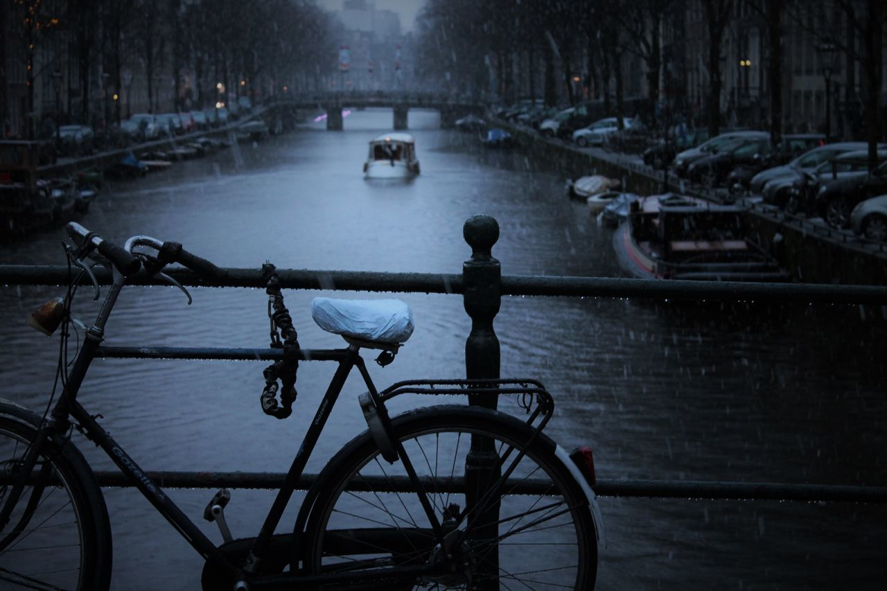 Amsterdam Canal Amsterlove Bicycle Bridge View City Instaphoto Travel Love Travel Photography First Eyeem Photo