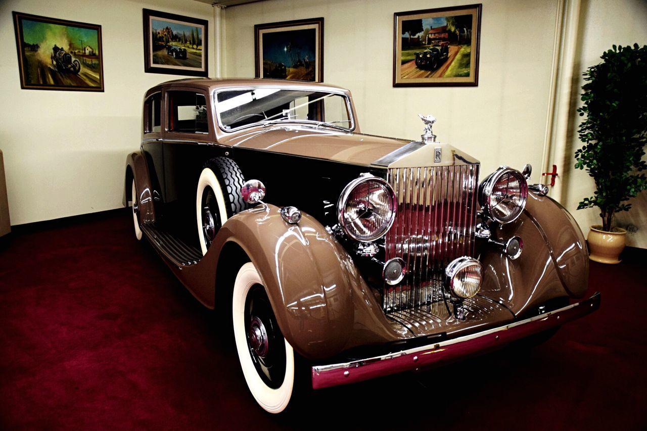 Cars Auto Museum Motors Vintage Cars Travel Rolls Royce