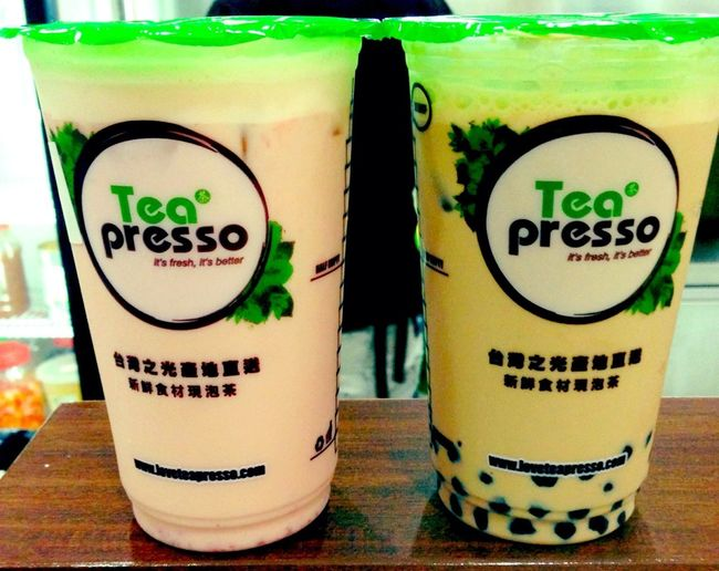 Tea Presso (Bubble Milk Tea) Taiwan