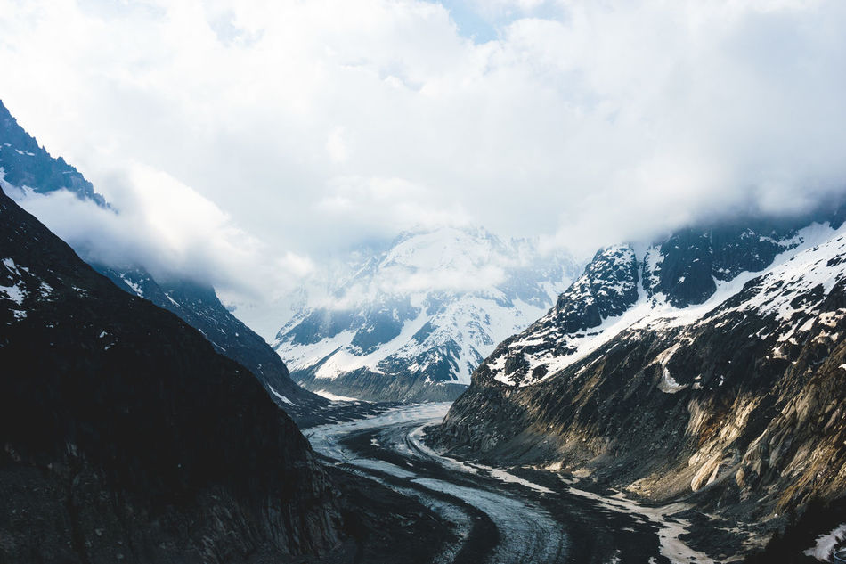 Beautiful stock photos of sky,  Beauty In Nature,  Chamonix-Mont-Blanc,  Cloud - Sky,  Cold Temperature