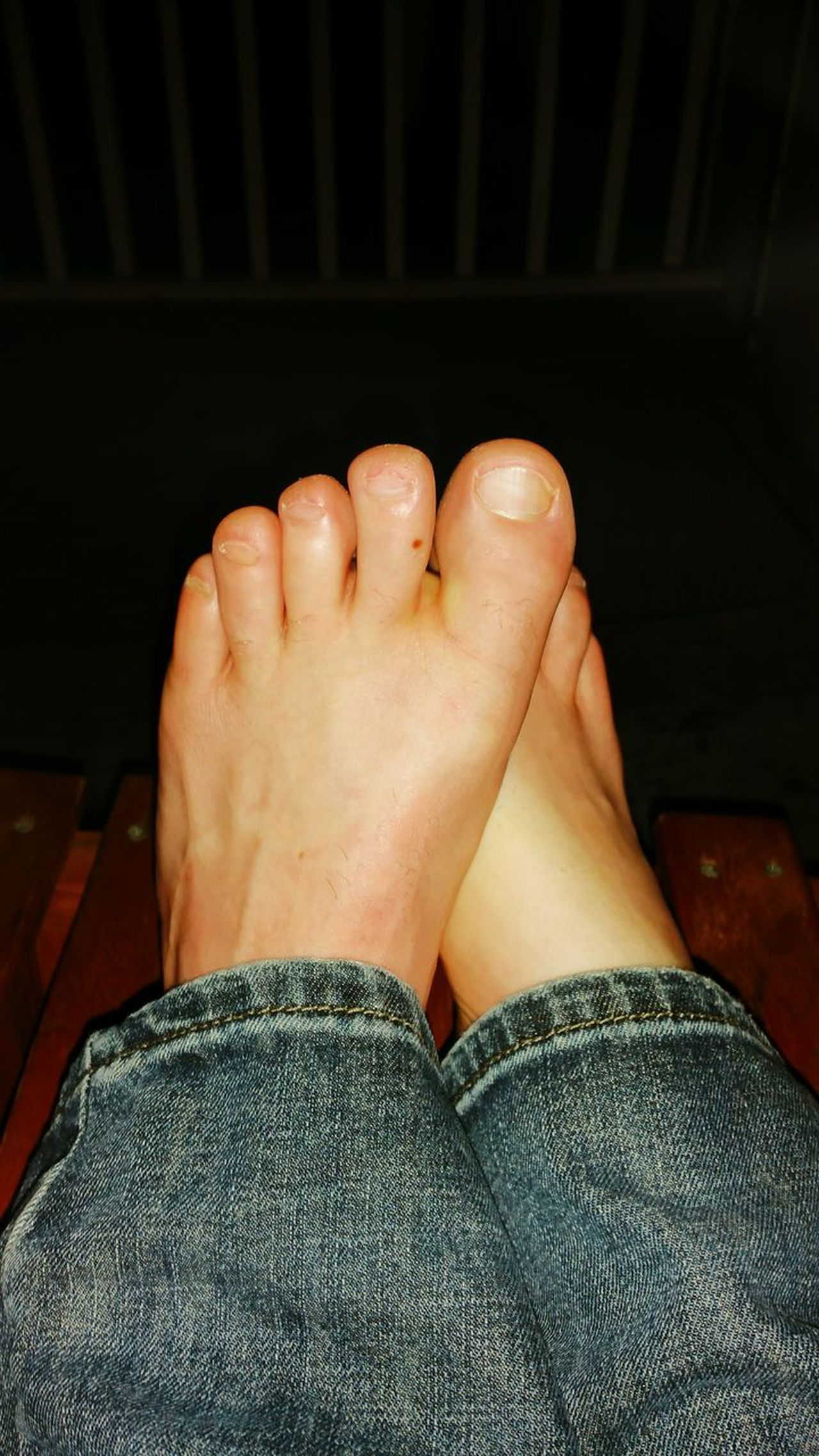 Human Foot Low Section Human Leg Barefoot Personal Perspective Human Body Part One Person Toe Real People Adult Pedicure Myfeet Mytoes Toes Sexyfeet