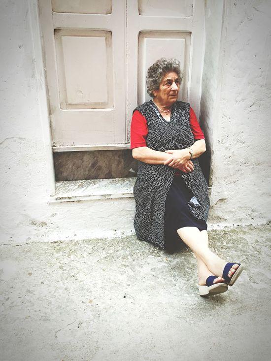 Selfportrait Nonna Incanto Terra  Straniera Quanta Malinconia 📷⚓️🌅