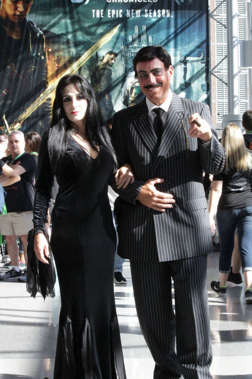 Adults Only Suit Businessman Well-dressed Celebration Cosplay Cosplaying Cosplayer Arts Culture And Entertainment Television Show addamsfamily