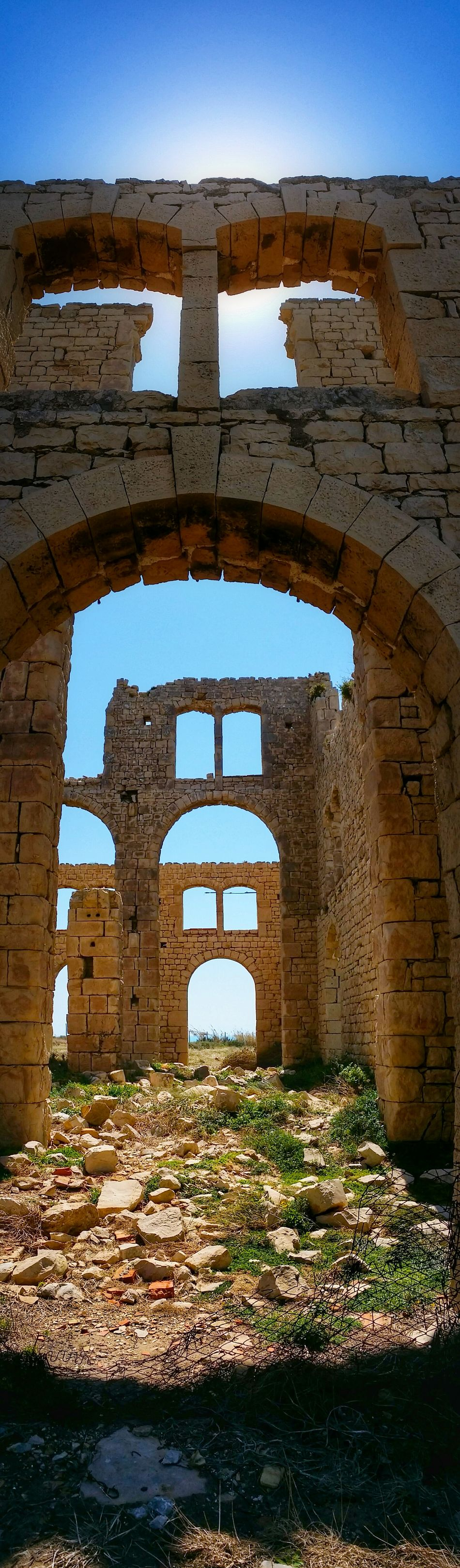 Sampieri Ragusa Sicily Italy Travel Photography Travel Voyage Traveling Mobile Photography Fine Art Backlight Panoramic Views Architecture Early XX Century's Industrial Facilities Furnaces Ruins Mobile Editing The Great Outdoors With Adobe The Architect - 2016 EyeEm Awards