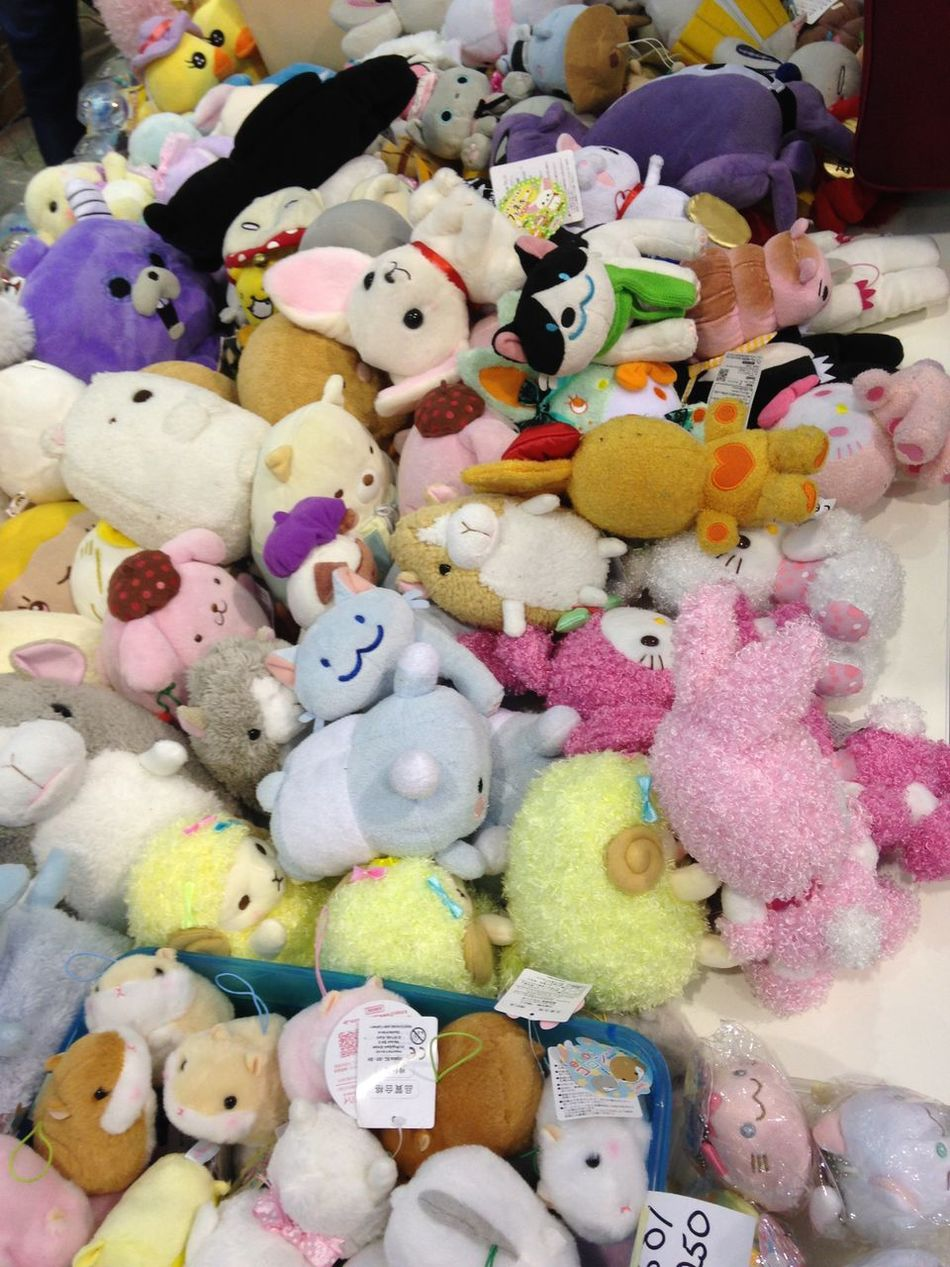 Going To Market Stuffed Animals Funny Stuff Toy Photography