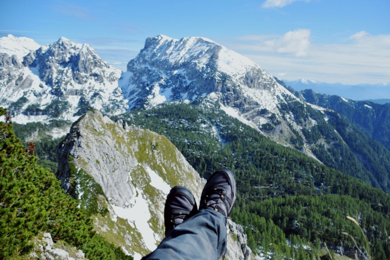 Triglav and stuff.. Triglav National Park Personal Perspective Shoe Mountain Human Body Part Human Leg Low Section One Person Adventure One Man Only Hiking People Adults Only Adult Day Travel Destinations Sky Outdoors Snow Slovenia Nature Scenics