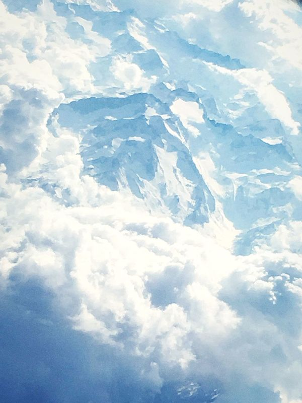•White mount• Cloud - Sky White Color Sky Beauty In Nature EyeEmNewHere Nature Flying On The Clouds EyeEmNewHere