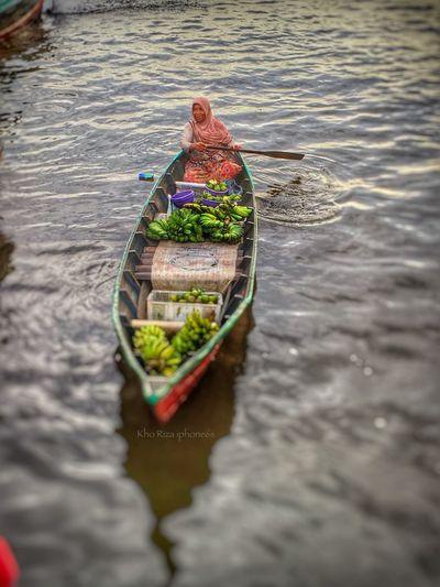 Pasar Terapung Banjarmasin Iphonephotography Iphone6s Streetphotography IPhoneography Kalsel